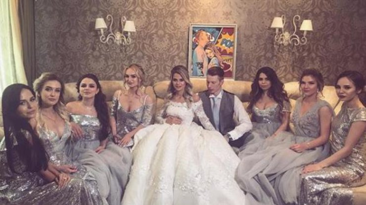 Фото гостей на свадьбе пугачевой