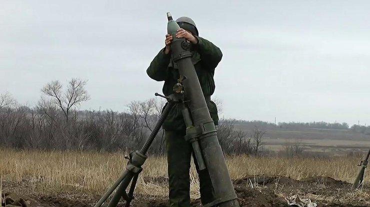 Штаб АТО: Боевики обстреляли опорный пункт сил АТО вМарьинке
