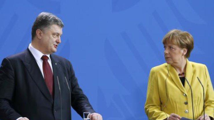 ВГамбурге началась встреча В. Путина , Меркель иМакрона