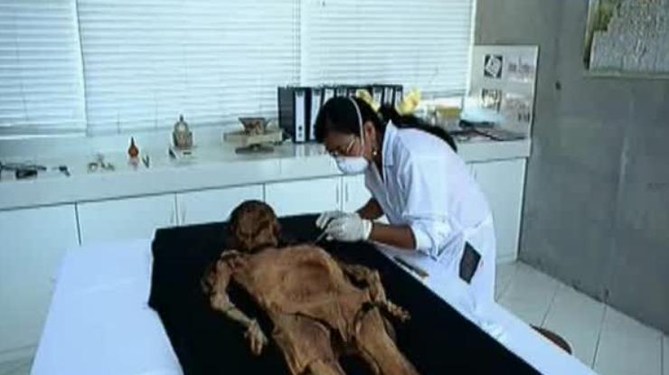 ВПеру воссоздали имидж легендарной мумии Леди Као