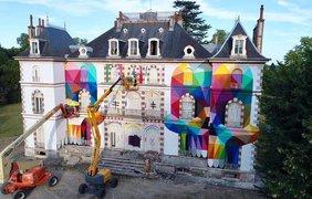 Заброшенный дворец во Франции