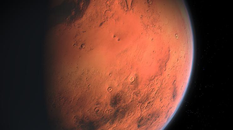 Ровер NASA сделал фото облаков наМарсе