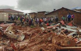 Оползень во Африке: состав пострадавших возросло