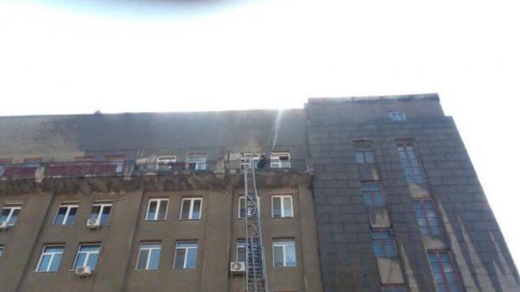 Пожар напротив вокзала вХарькове локализован