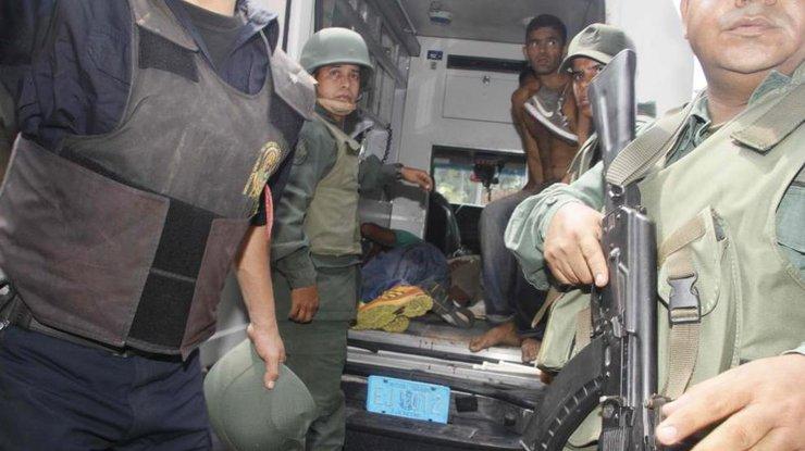 Бойня ввенесуэльской тюрьме: погибли более 35 заключенных
