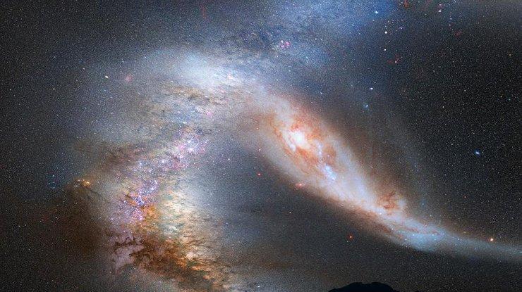 Астронавт продемонстрировал Млечный Путь сборта МКС