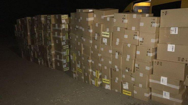 СБУ пресекла вывоз контрабанды сигарет изОРДЛО— Донецкий контрафакт