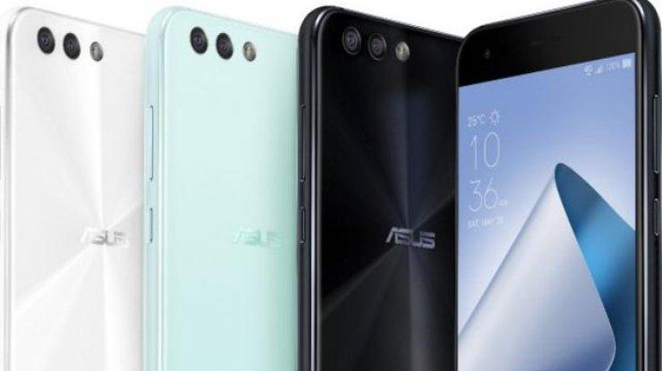 ASUS представила обновленные модели телефонов ZenFone 4 иZenFone 4 Pro