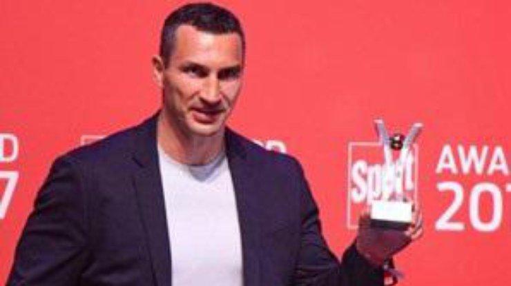 Владимира Кличко наградили запроигранный бой Джошуа