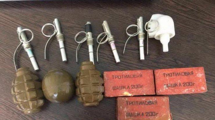 НаДнепропетровщине военный вел торговлю тротилом иззоны АТО
