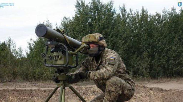 ВСУ приняли навооружение ракетный комплекс «Корсар»