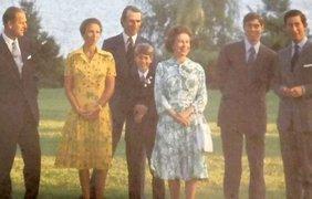 Раритетные фото королевской семьи