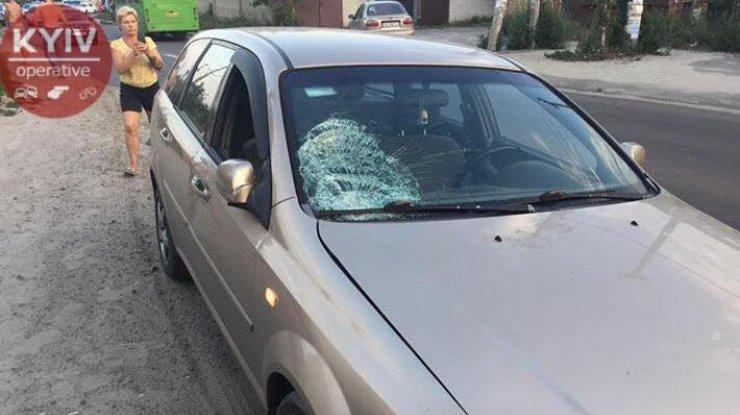 ВКиеве нетрезвый шофёр сбил 2-х детей