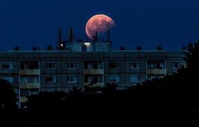 Лунное затмение в Германии