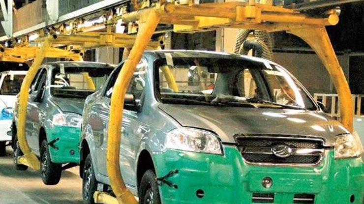 Вгосударстве Украина  прослеживается  рост производства авто