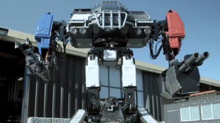 Боевого 12-тонного робота создали вСША