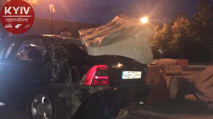 Нетрезвый шофёр вКиеве совершил 4 ДТП
