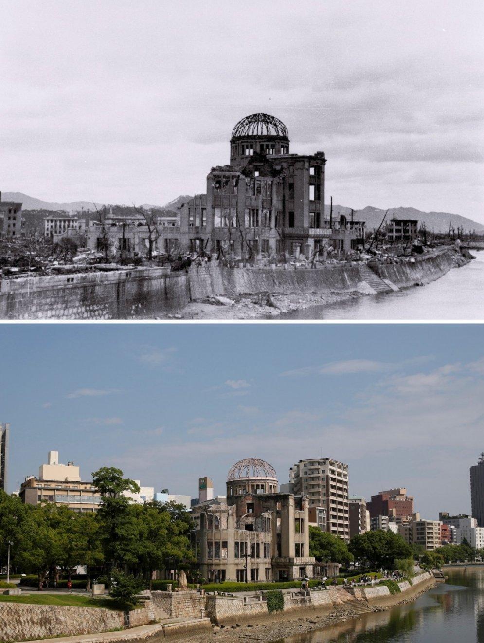 того координатами как сейчас выглядит хиросима и нагасаки фото растение