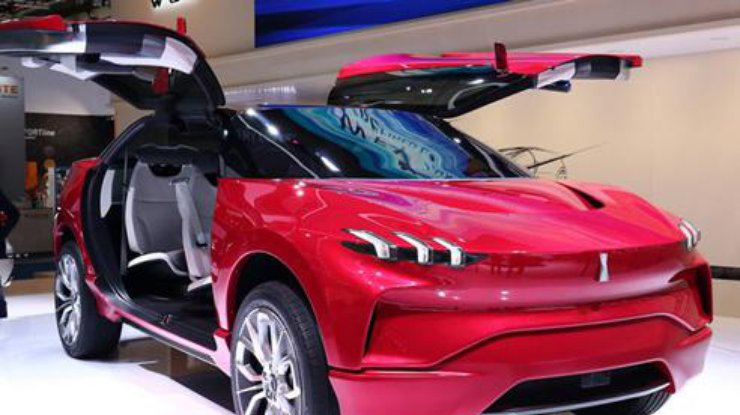 Грейт Уол привез воФранкфурт конкурента Tesla Model X