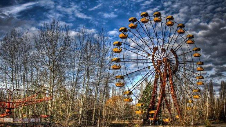 Вмертвой Припяти запустилось колесо обозрения
