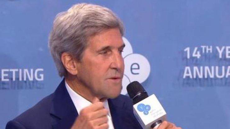 Керри: Нужно удостовериться, что миротворцы наДонбассе— незападня