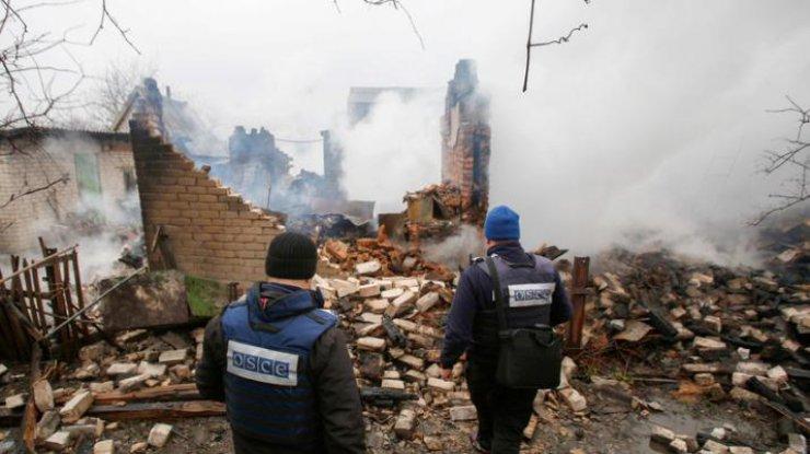 ОБСЕ: Вспышка агрессии вДонбассе может начаться влюбой момент