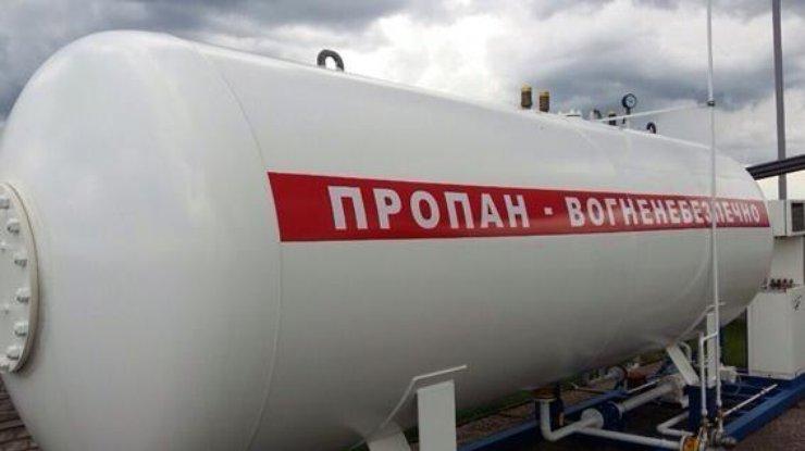 Украинские АЗС снизили цены наавтогаз