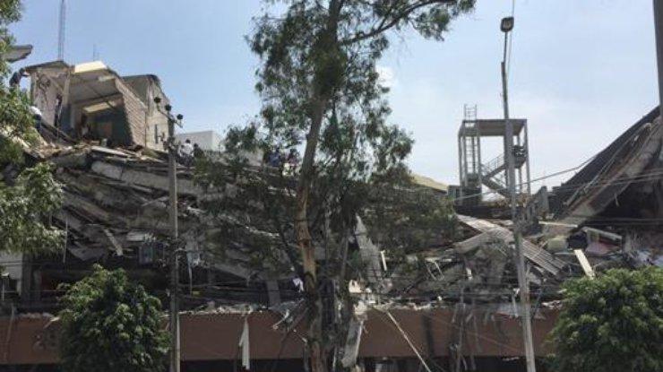Жертвами мощного землетрясения вМексике стали 119 человек