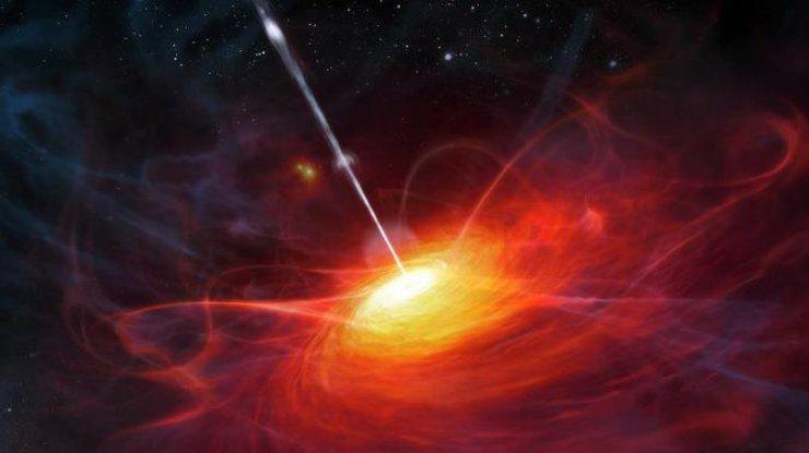 Ученые обнаружили вгалактике сверхмассивные касающиеся друг дружку черные дыры