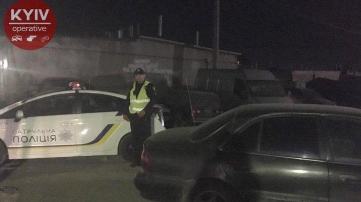 ВДарницком районе украинской столицы произошла стрельба, имеется пострадавший