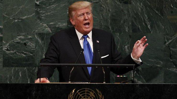 Трамп обвинил ООН вбюрократии