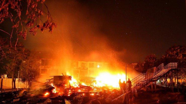 Следствие озвучило три версии трагического пожара вдетском лагере Одессы