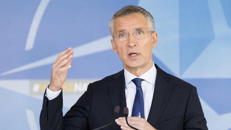 Генеральный секретарь НАТО доволен переговорами сЛавровым
