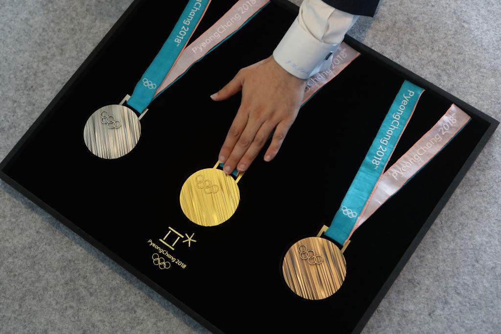 Состоялась презентация наград Олимпийских игр 2018 года