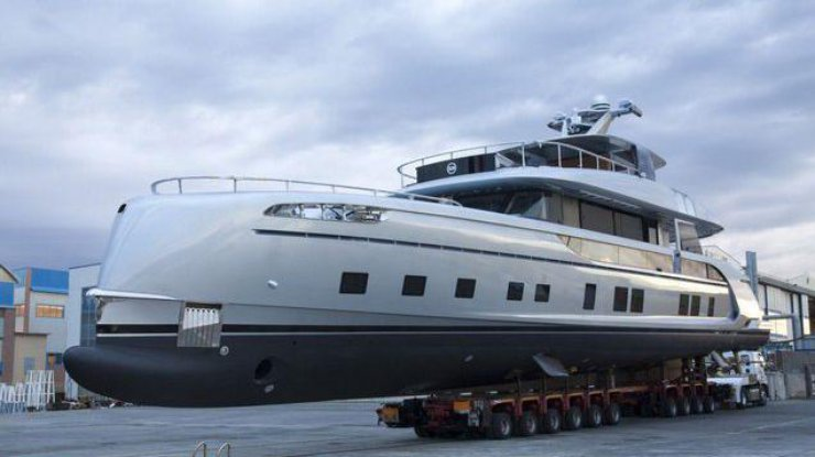 Компания Порш выпустила элитную яхту: появилось фото