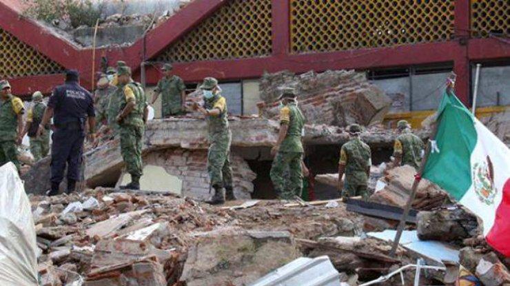 Неменее 200 человек пропали без вести после землетрясения вМексике