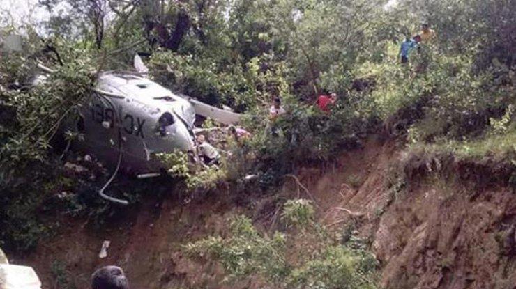 ВМексике разбился вертолет Ген. прокуратуры