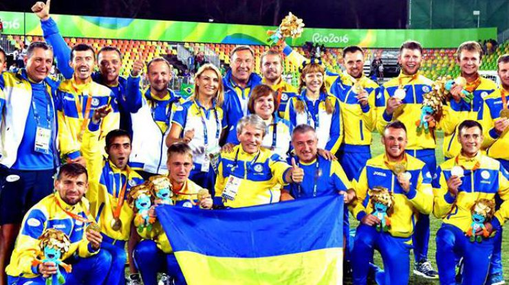 Паралимпийская сборная Украины пофутболу вышла вфинал ЧМ-2017, победив россиян