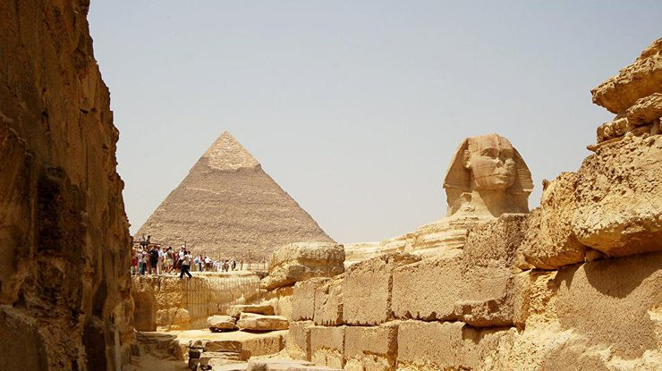 Археологи отыскали технологию возведения египетских пирамид
