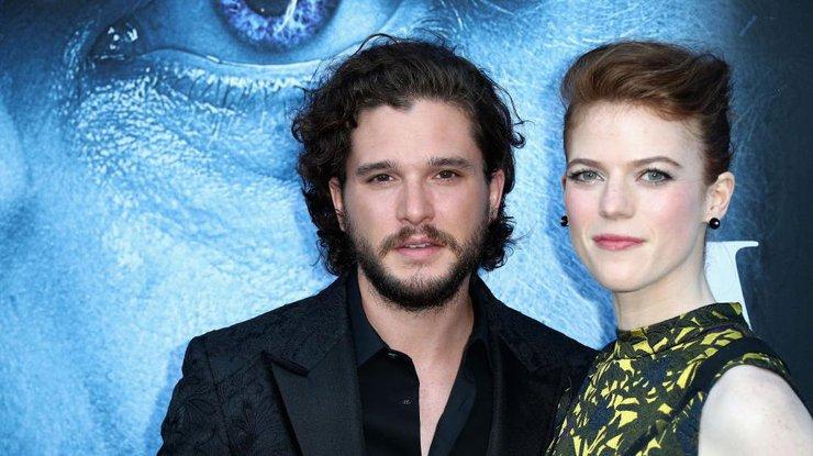 Актеры сериала «Игра престолов» объявили о собственной свадьбе