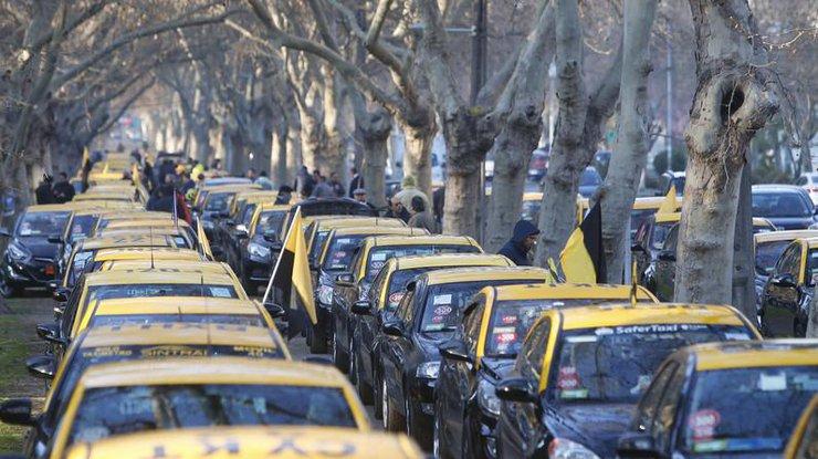 Чилиец умер вовремя протестов против Uber