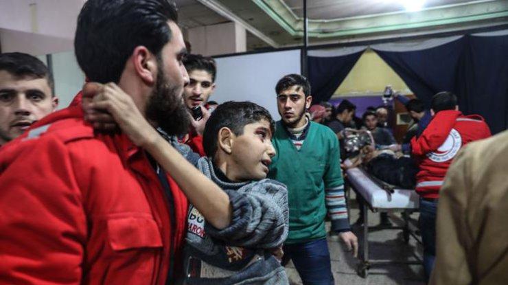ВСирии проинформировали  огазовой атаке впригороде Дамаска