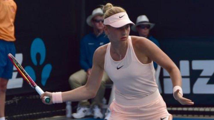Пятнадцатилетняя украинка угодила воснову Australian Open иустановила рекорд турнира
