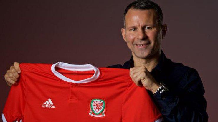 Гиггз назначен основным тренером сборной Уэльса