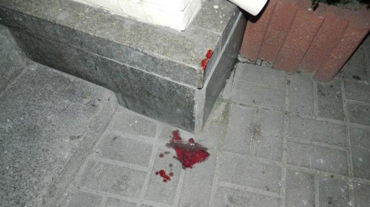 Вцентре столицы Украины двое нетрезвых молодых отморозков избили иограбили мужчину