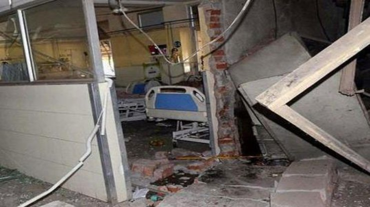 При взрыве газа в клинике  Пакистана погибли шесть человек