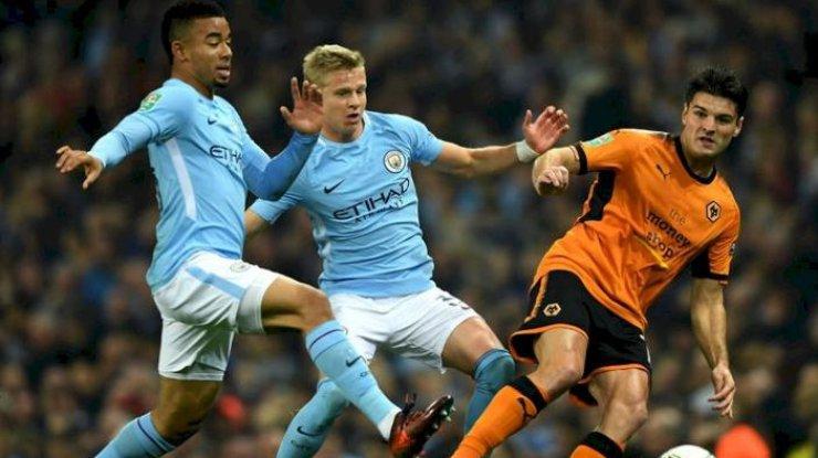 Зинченко встартовом составе «Манчестер Сити» напоединок против «Ньюкасла»