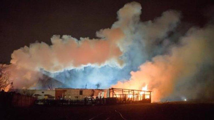 Взрыв нагазопроводе вПольше: сгорело три жилых дома