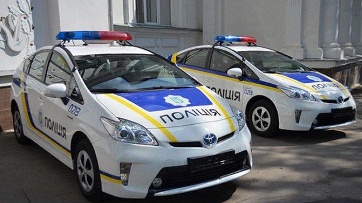 НаФонтане полицейские попали вДТП при пересечении двойной сплошной