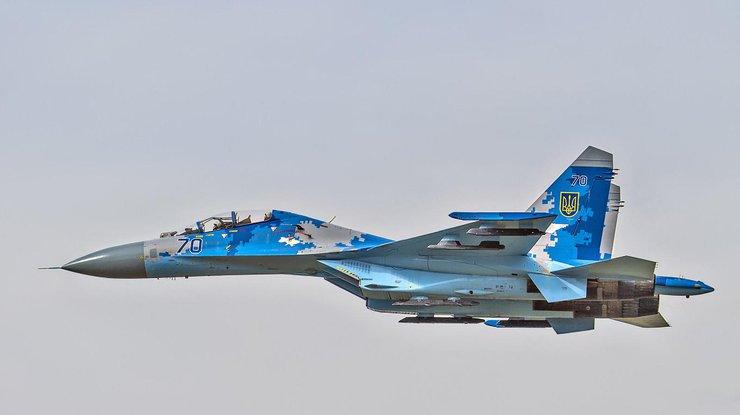 Вгосударстве Украина разбился самолет Су-27